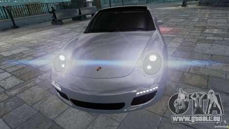 Porsche Targa 4S 2009 für GTA 4 Rückansicht