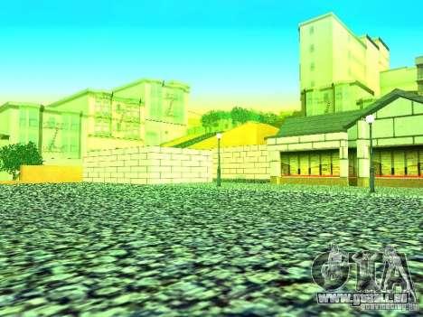 Nouvelle boutique de texture SupaSave pour GTA San Andreas deuxième écran