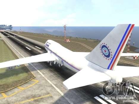 Oceanic Airlines für GTA 4 hinten links Ansicht