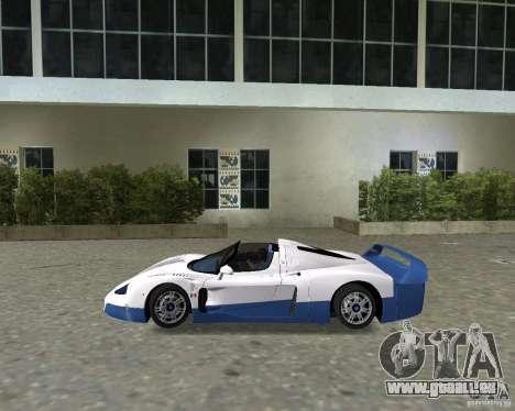 Maserati MC12 pour une vue GTA Vice City de la droite