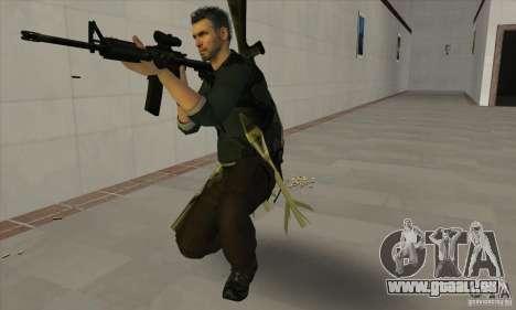 Sam Fisher pour GTA San Andreas quatrième écran