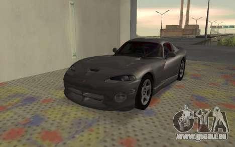 Dodge Viper GTS Tunable für GTA San Andreas