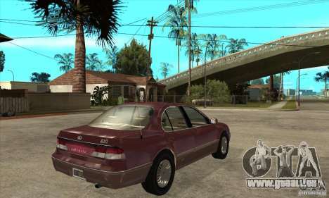 Infiniti I30 A32 Kouki für GTA San Andreas rechten Ansicht