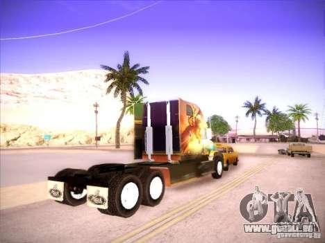 Mack Vision pour GTA San Andreas sur la vue arrière gauche