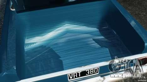 Renault Torino 380 W für GTA 4 obere Ansicht