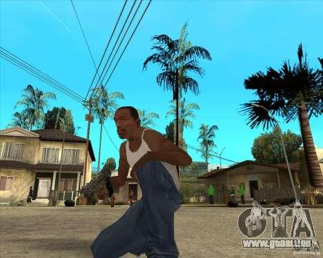 Colt 45 pour GTA San Andreas troisième écran