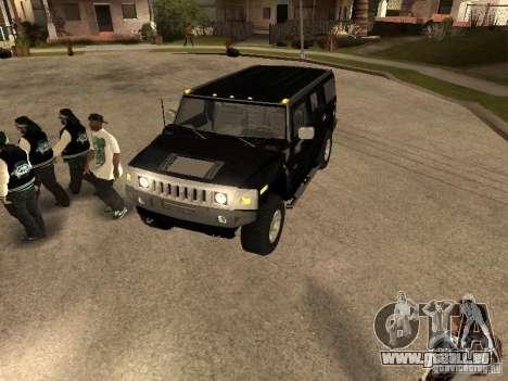 Alarmanlage für Autos für GTA San Andreas