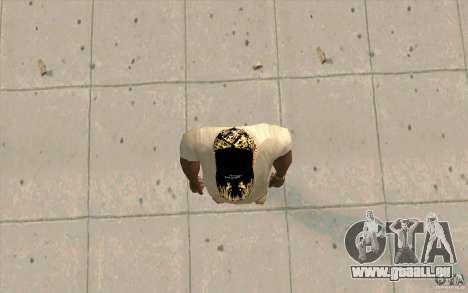 Jaguar de Cap pour GTA San Andreas troisième écran