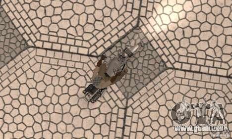 Ural Wolf 1998 für GTA San Andreas rechten Ansicht