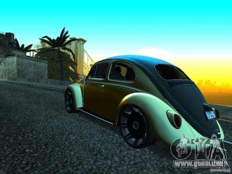 Volkswagen Fusca 1966 Tuning für GTA San Andreas rechten Ansicht