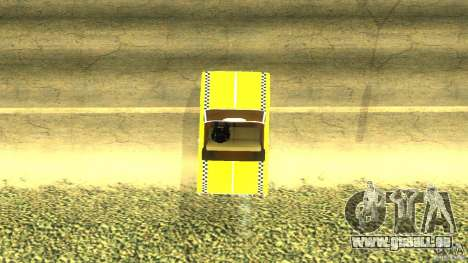 Crazy Taxi - B.D.Joe pour GTA San Andreas sur la vue arrière gauche