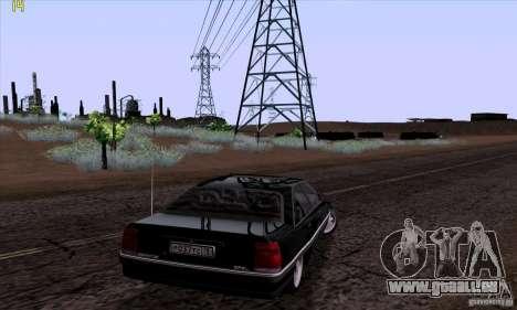 Opel Omega A Diamant Stock pour GTA San Andreas laissé vue