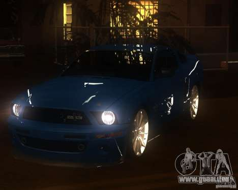 Shelby Mustang 2009 pour GTA San Andreas