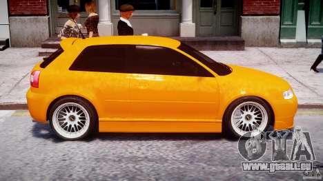 Audi A3 Tuning pour GTA 4 est une vue de dessous