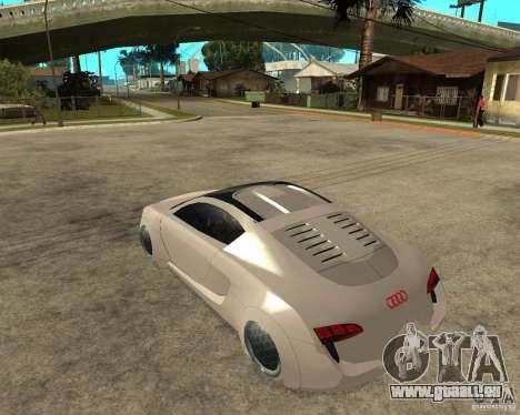 AUDI RSQ concept 2035 pour GTA San Andreas laissé vue