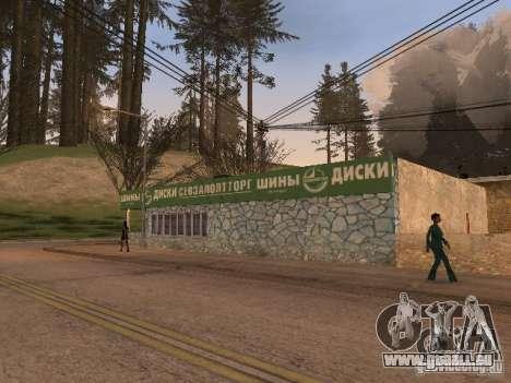 Le Village de Ivanovka pour GTA San Andreas douzième écran