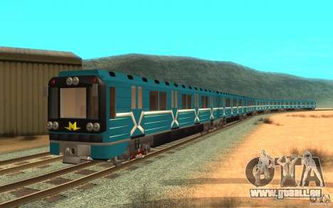 Metro type 81-717 für GTA San Andreas