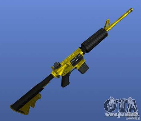 M4A1 für GTA 4 dritte Screenshot