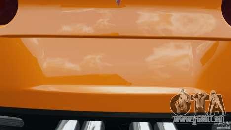Chevrolet Corvette C6 Grand Sport 2010 pour le moteur de GTA 4