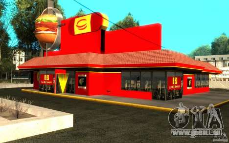 Pumper Nic Mod pour GTA San Andreas