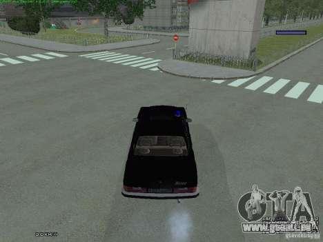 Volga fédéral pour GTA San Andreas vue arrière