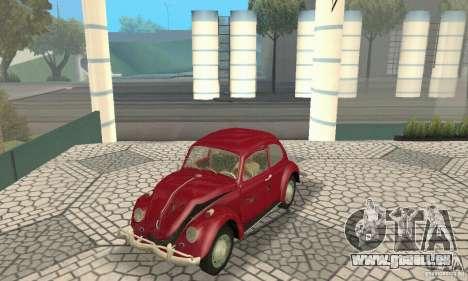 Volkswagen Beetle 1963 für GTA San Andreas Räder