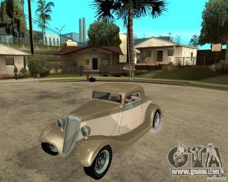 Ford 1934 Coupe v2 für GTA San Andreas