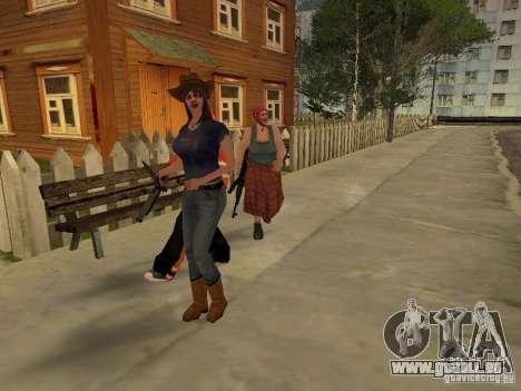 Jede Gruppe von Player 3.0 für GTA San Andreas zweiten Screenshot