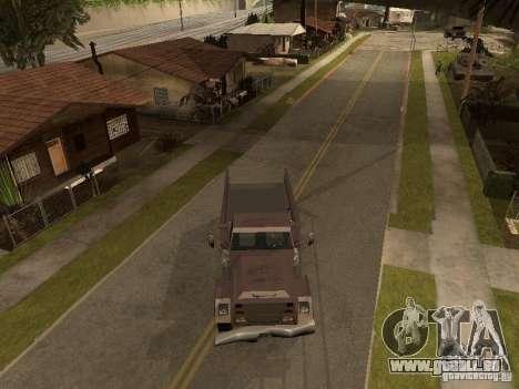 Ford Freightliner für GTA San Andreas zurück linke Ansicht