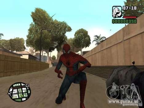 Spider-man 2099 pour GTA San Andreas quatrième écran