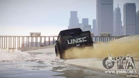 Ford F150 SVT Raptor 2011 UNSC pour GTA 4 Vue arrière de la gauche