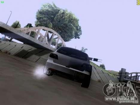 Mazda Speed 3 Stance pour GTA San Andreas sur la vue arrière gauche