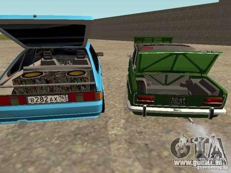 Moskvich 2141 für GTA San Andreas Räder