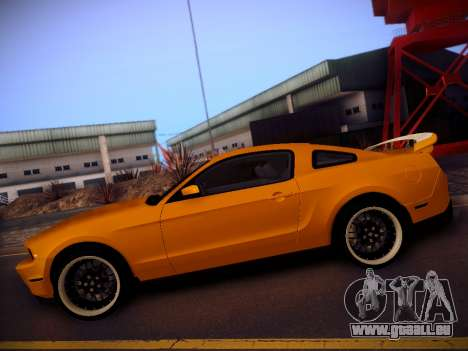 Ford Mustang GT 2010 Tuning pour GTA San Andreas laissé vue