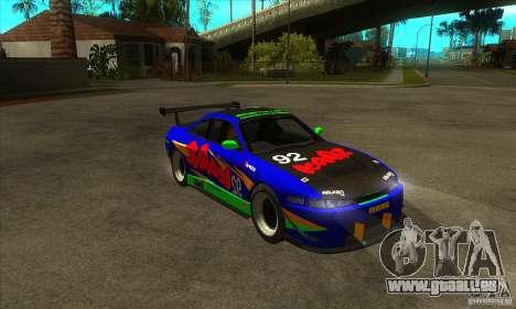 Nissan Silvia S14 GT pour GTA San Andreas vue arrière