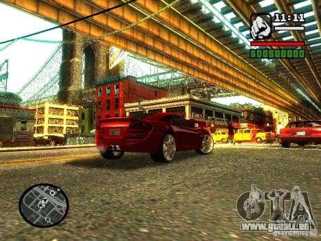 Lotus Europe S pour GTA San Andreas laissé vue