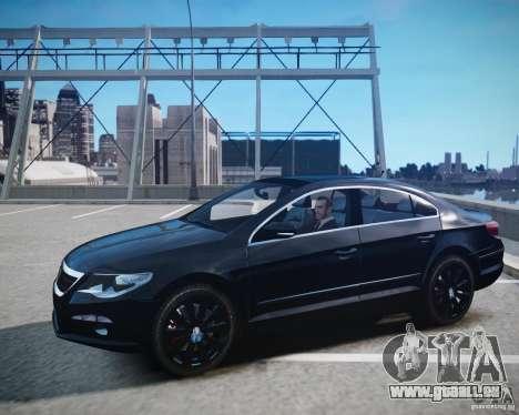 Volkswagen Passat CC pour GTA 4 Vue arrière