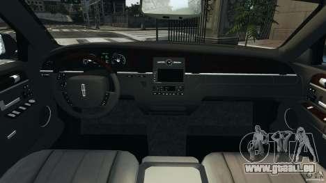 Lincoln Town Car 2006 v1.0 pour GTA 4 Vue arrière