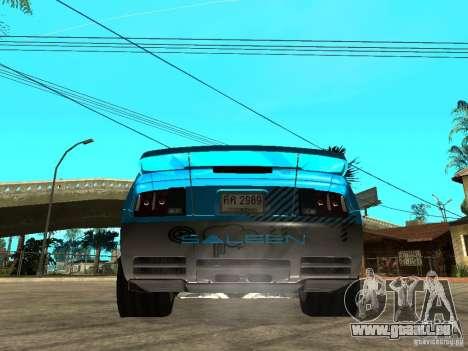 Ford Mustang Drag King pour GTA San Andreas laissé vue