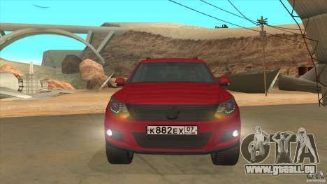 Volkswagen Tiguan 2012 v2.0 pour GTA San Andreas vue de côté