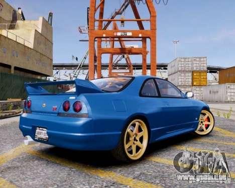 Nissan Skyline R33 GTR V-Spec für GTA 4 linke Ansicht