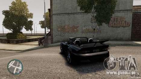 Blue Neon Banshee für GTA 4 hinten links Ansicht