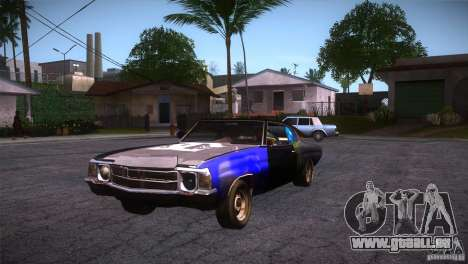 Chevrolet Chevelle SS DC pour GTA San Andreas