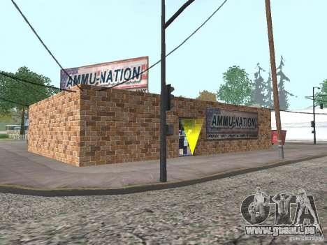 Geänderte Angel Pine village für GTA San Andreas her Screenshot