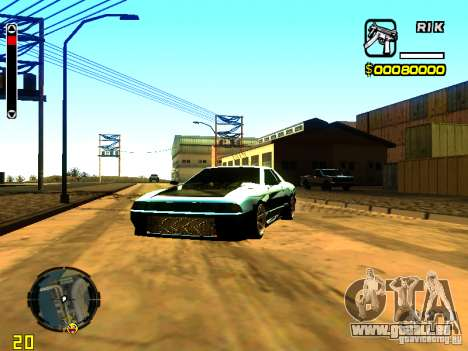 New Elegy v1 pour GTA San Andreas