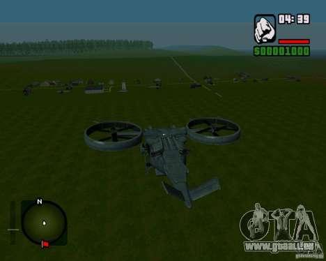 SA-2 Samson pour GTA San Andreas vue de droite