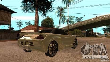 Toyota MR-S Veilside für GTA San Andreas rechten Ansicht