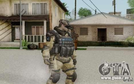 Ein Ingenieur aus Warface für GTA San Andreas zweiten Screenshot
