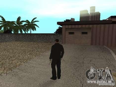 CJ Mafia Skin pour GTA San Andreas quatrième écran