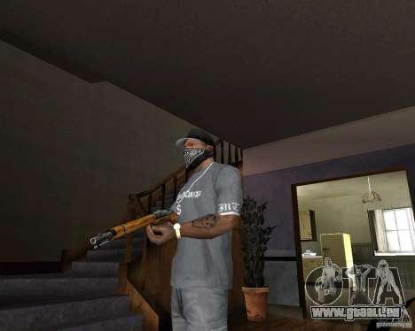 Fusil de chasse M511 pour GTA San Andreas deuxième écran